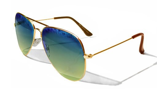 Sunglasses with power lens