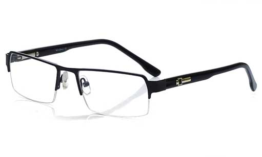 halfrim spectacles for men