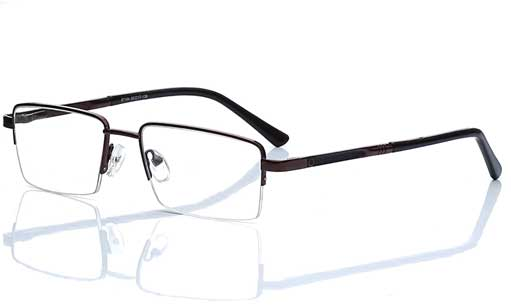 halfrim specs for men