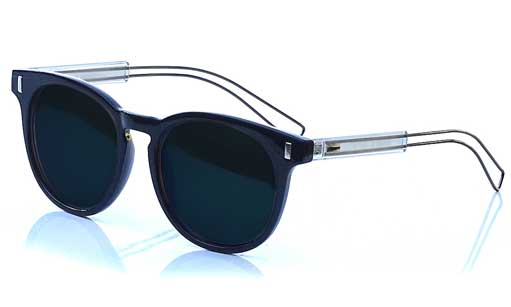 Dark Blue Prescription Sunglasses