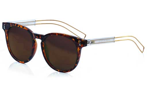 Dark Brown Prescription Sunglasses